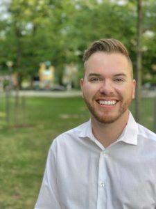 A headshot of Sean Hillier.