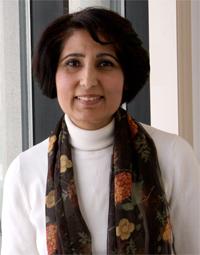 A headshot of Farah Ahmad.