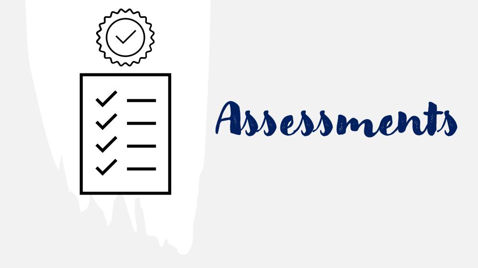 Heading Assessments