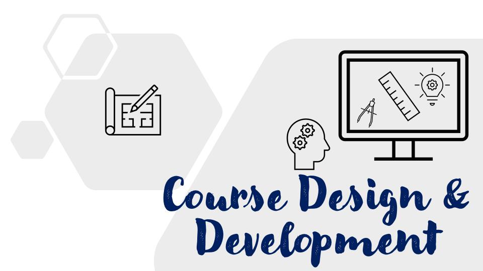 Heading Course Design and Development