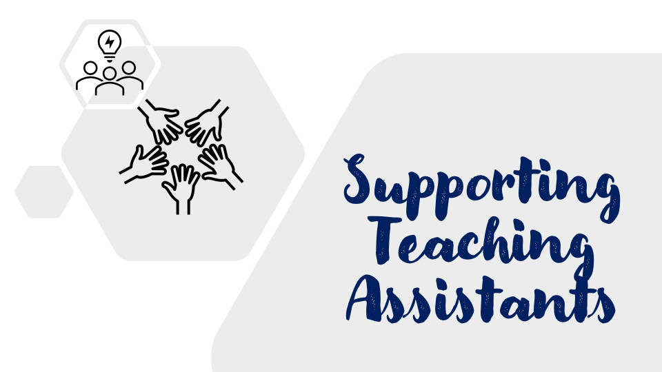 Heading Supporting Teaching Assistants