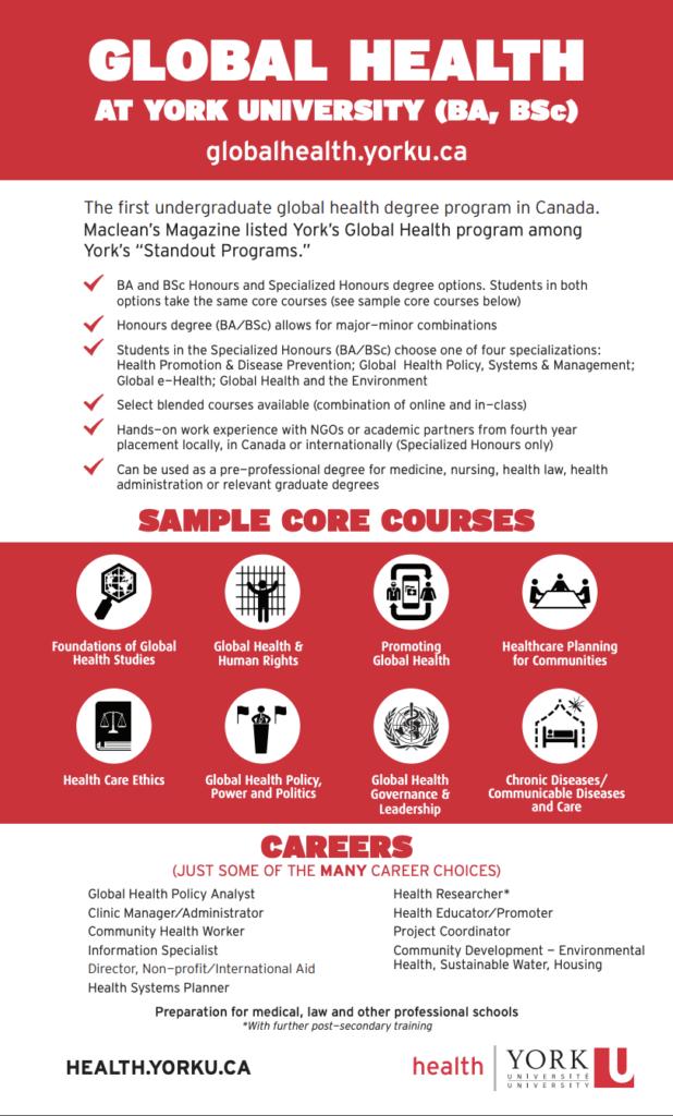 Thumbnail of the Global Health program snapshot