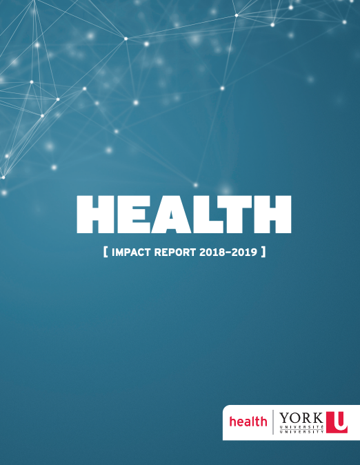Cover of the Faculty of Health Impact Report 2018 to 2019
