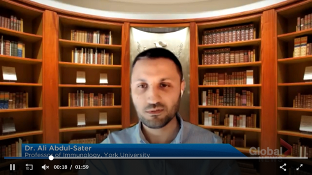 Ali Abdul Sater_Global News