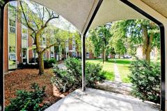 Wood Residence exterior quad