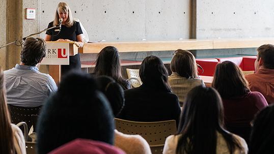 lecture presentation at york university