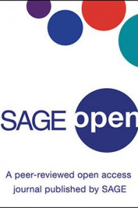 SAGE open journal cover