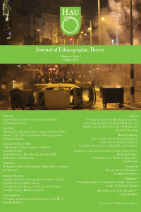 journal of ethnographic theory journal cover for winter 2016