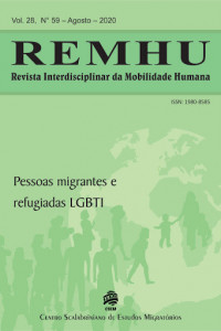 "Liberation Nation? Queer Refugees, Homonationalism and the Canadian Necropolitical State"". REMHU - Revista Interdisciplinar da Mobilidade Humana journal cover"