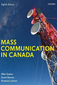 mass communication in canada book cover