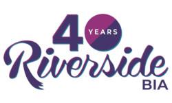 The Riverside Business Improvement Area (BIA) Logo