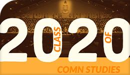 COMN class of 2020 banner
