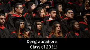 Congratulatory video from faculty to graduating students