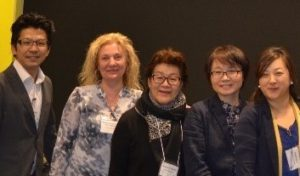 Presenters pose for group photo at Conference on the Language of Japanese Food 2018