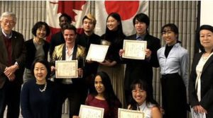 yorku students at ontario japanese speech contest