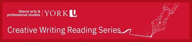 creative writing reading series banner