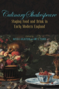 staging food and drink in early modern england book cover