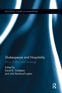Shakespeare and hospitality book cover