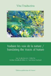 Traduire les voix de la nature book cover