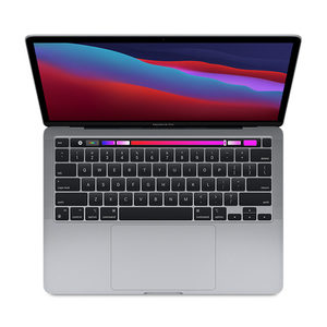 picture of a Macbook Pro with Touch Bar