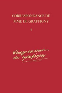Correspondance de Mme de Graffigny, vol 13 journal cover