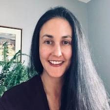 Contract faculty member Krista Hunt