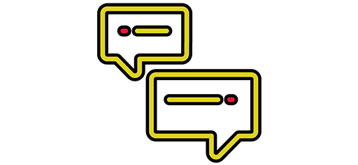 instant message chat icons