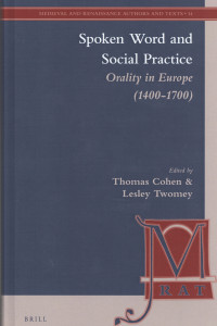 spoken word and social practice book cover