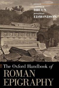the oxford handbook of roman epigraphy book cover