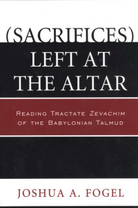 sacrifices left at the altar book cover