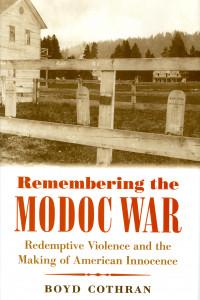Remembering The Modoc War book cover