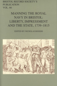 manning the royal navy in bristol book cover