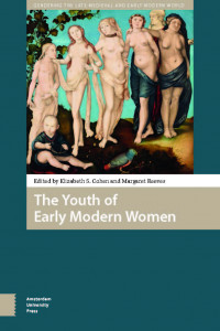 the youth of early modern women book cover