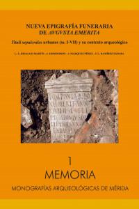 Nueva Epigrafía Funeraria de Augusta Emerita book cover