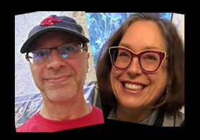 Carl Ehrlich and Carolyn Podruchny