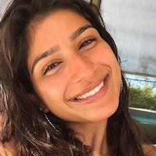 individualized studies alumna Donya Khosravi