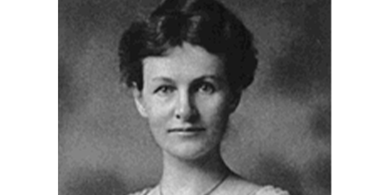 Portrait of Nellie Langford Rowell