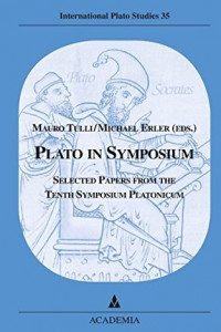 plato in symposium book cover
