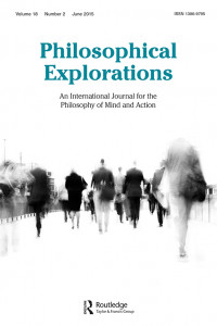philosophical explorations journal june 2015
