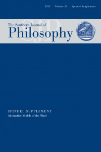 the southern journal of philosophy volume 53 2015