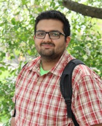 Commerce student Harsh Verma