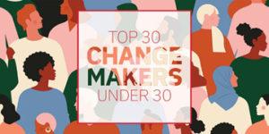 logo top 30 change makers under 30
