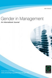 Gender in Management cover page