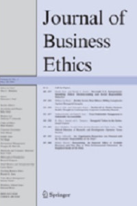 Journal_of_Business_Ethics table of contents screenshot