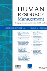 HR Management cover page