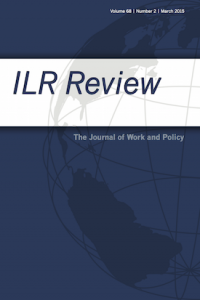 ILR review cover page