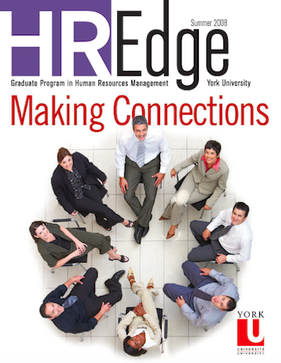 HR Edge Magazine Issue 1 cover page