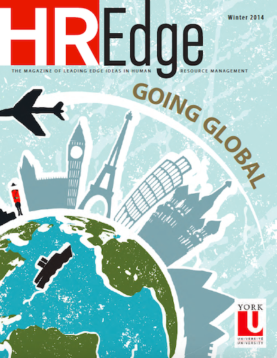 HR Edge Magazine Issue 4 cover page