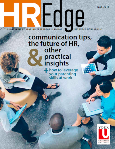 HR Edge Magazine Issue 6 cover page