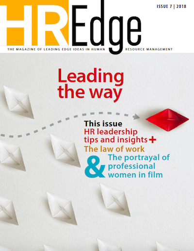HR Edge Magazine Issue 7 cover page